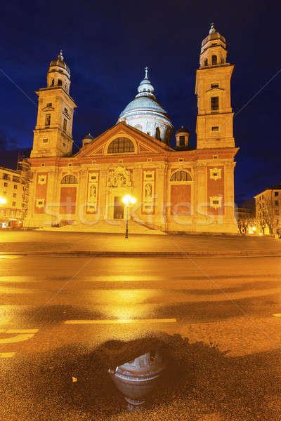 Santa Maria Church in Genoa Stock photo © benkrut
