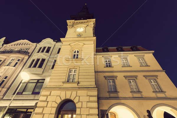 Old Rathaus in Ostrava Stock photo © benkrut