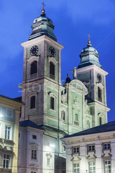 Church of Ignatius in Linz Stock photo © benkrut