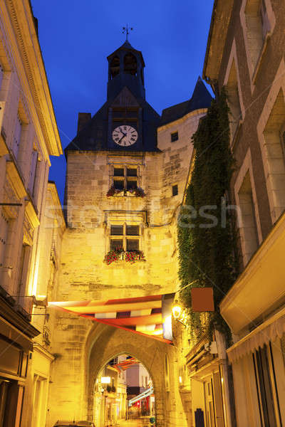 L'Horloge Tower in Amboise Stock photo © benkrut