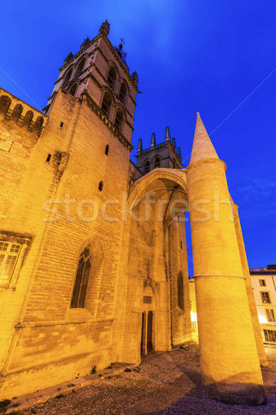 Montpellier Cathedral Stock photo © benkrut