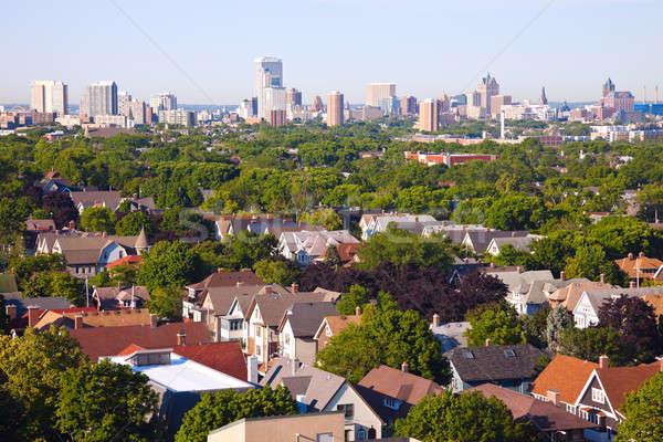 Stock photo: Milwaukee - city panorama