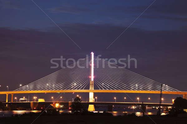 Cam şehir köprü Ohio Stok fotoğraf © benkrut