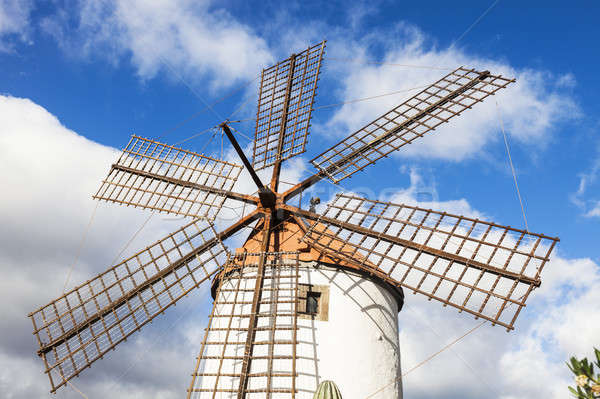 Windmill on Gran Canaria Stock photo © benkrut
