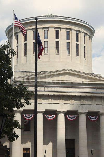 State Capitol Building in Columbus Stock photo © benkrut