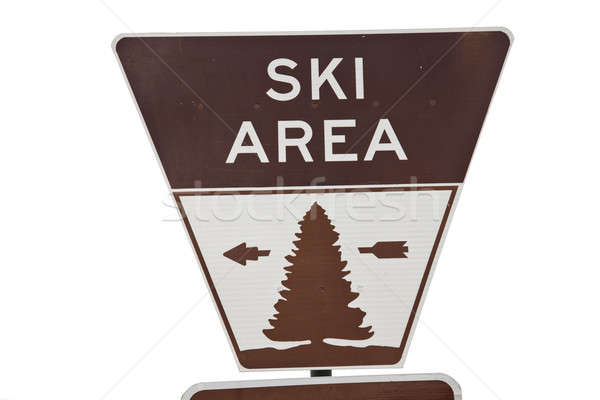 Ski area Stock photo © benkrut