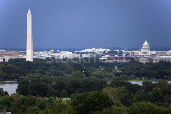 The US Capitol and Washington Monument Stock photo © benkrut