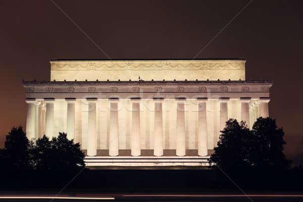 Washington DC niebo budynku architektury kolumnie Zdjęcia stock © benkrut