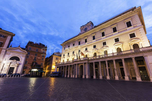 Colonna Square in Rome Stock photo © benkrut
