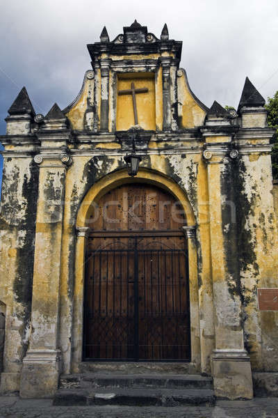 Stock photo: Gate to the Church