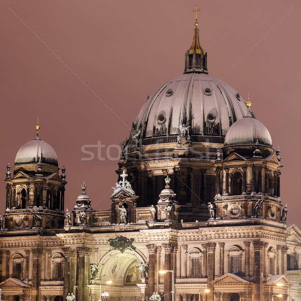 Berlin Cathedral Stock photo © benkrut