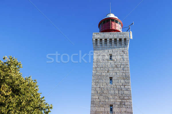 Lighthouse La Garoupe Stock photo © benkrut