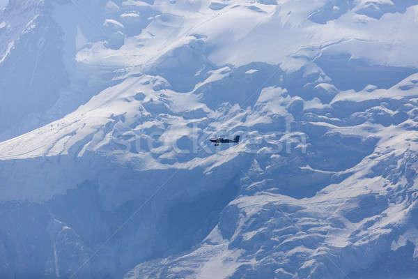 小 平面 飛行 空 山 旅行 ストックフォト © benkrut