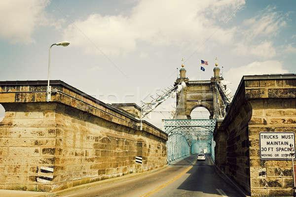 Történelmi híd Ohio Stock fotó © benkrut