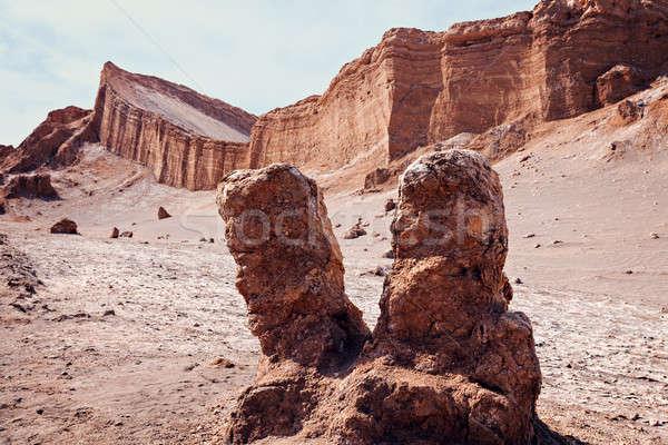 ValleDeLaLuna landscape  Stock photo © benkrut