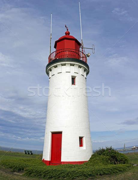 Whalers Bluff Lighthouse Stock photo © benkrut