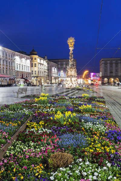 列 オーストリア 市 青 旅行 1泊 ストックフォト © benkrut