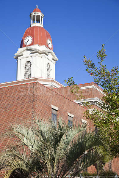 Historic courthouse in Sylvester  Stock photo © benkrut