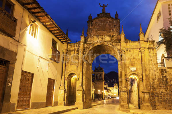 Arch in Cuzco  Stock photo © benkrut
