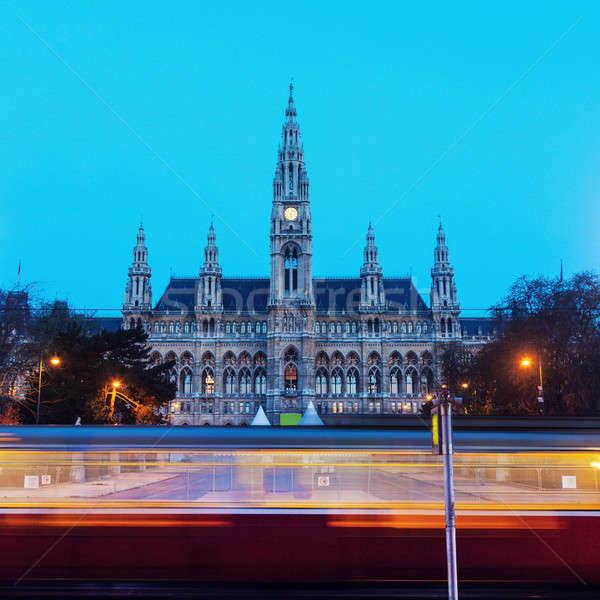 Vienna City Hall Stock photo © benkrut