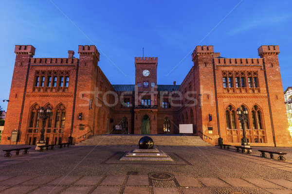 Kolobrzeg Old City Hall Stock photo © benkrut