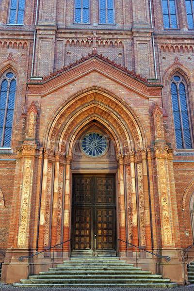 Marktkirche Stock photo © benkrut