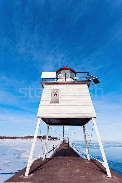 Two Harbors Breakwater Lighthouse Stock photo © benkrut