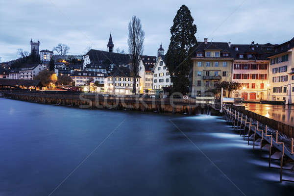 Stock photo: Lucerne architecture
