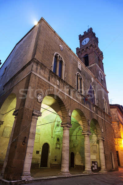 Piazza - streets of old town Stock photo © benkrut