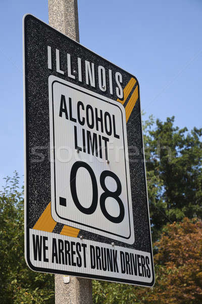 Illinois alcohol limit Stock photo © benkrut
