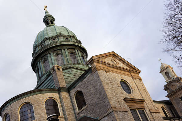Kerk centrum reizen Stockfoto © benkrut