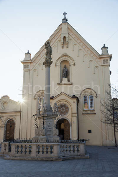 Capuchin Church in Bratislava Stock photo © benkrut