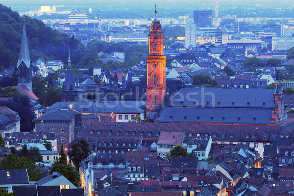 Jesuit Church in Heidelberg Stock photo © benkrut
