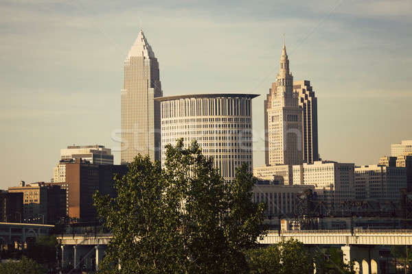 Afternoon in Cleveland Stock photo © benkrut