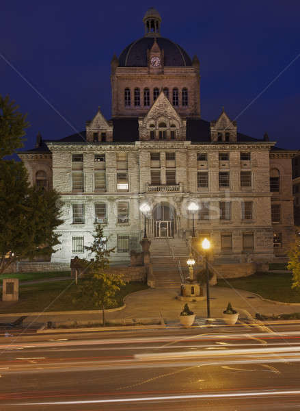 Historic building in Frankfort Stock photo © benkrut