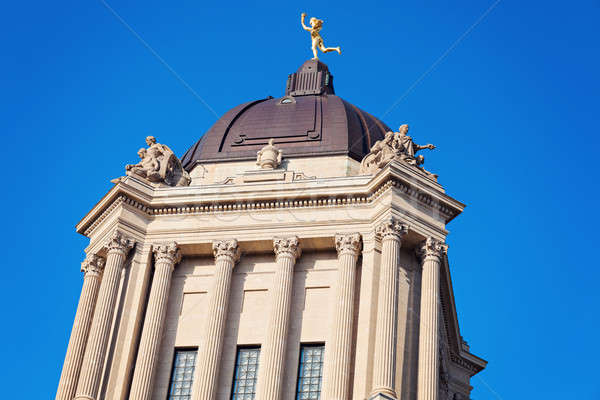 Manitoba Legislative Building Stock photo © benkrut