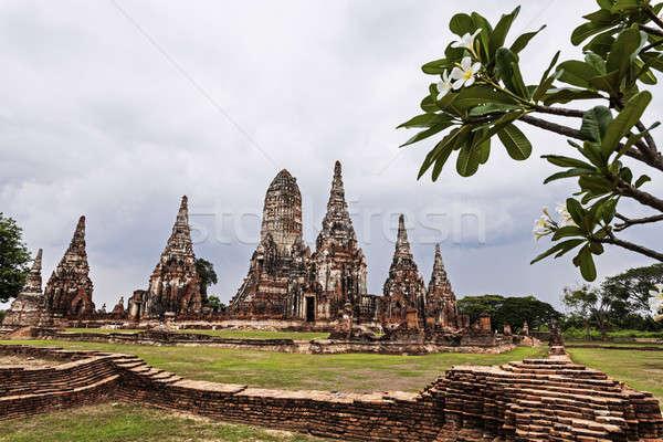 Ruins of old city Ayutthaya  Stock photo © benkrut