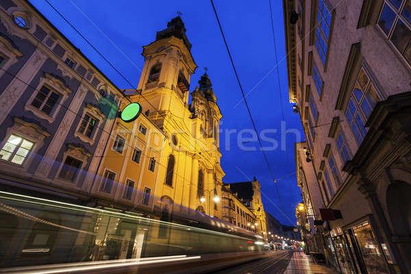 St. Michael Church in Linz Stock photo © benkrut