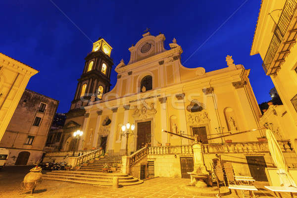 базилика Церкви путешествия Восход Skyline башни Сток-фото © benkrut