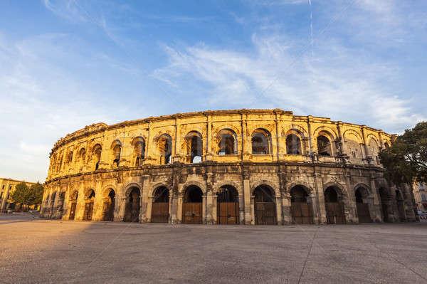 Arena of Nimes Stock photo © benkrut
