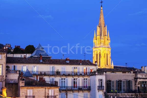 St. Anne Church in Montpellier  Stock photo © benkrut