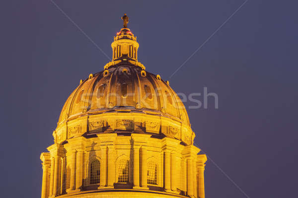 Jefferson City, Missouri - entrance to State Capitol Building  Stock photo © benkrut
