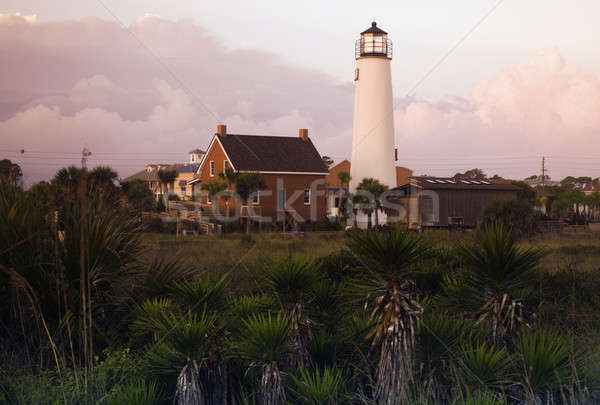 Lighthouse at Cape St. George Stock photo © benkrut