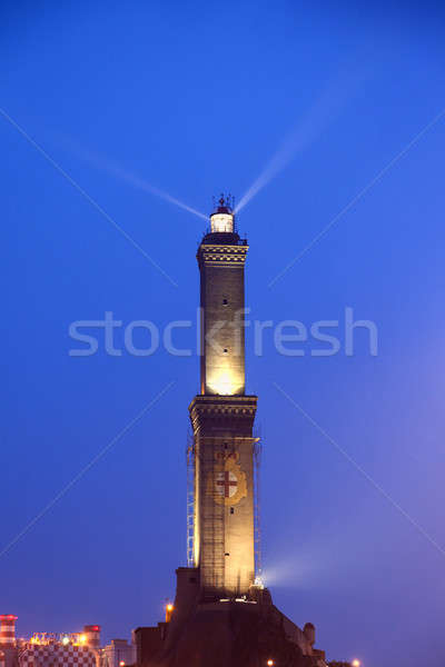 Lighthouse of Genoa Stock photo © benkrut