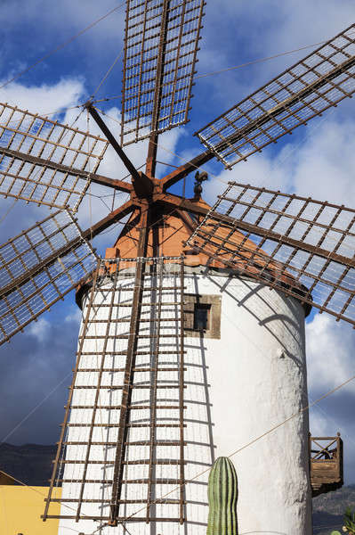 Stock photo: Windmill on Gran Canaria
