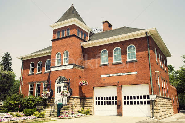 Historic Hall and Fire Station in Independence  Stock photo © benkrut