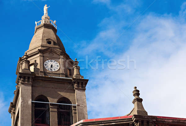 Church in the center of Punta Arenas  Stock photo © benkrut
