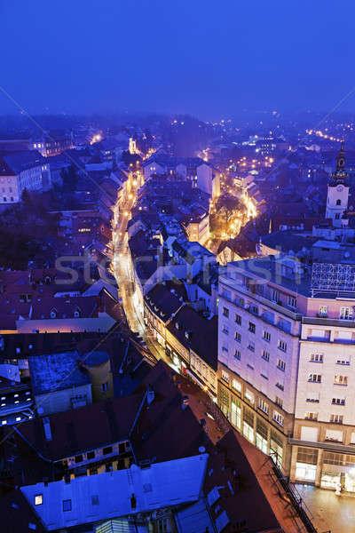 Radiceva Street in Zagreb  Stock photo © benkrut