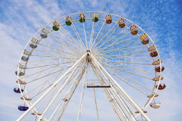 Wheel in Le Havre Stock photo © benkrut