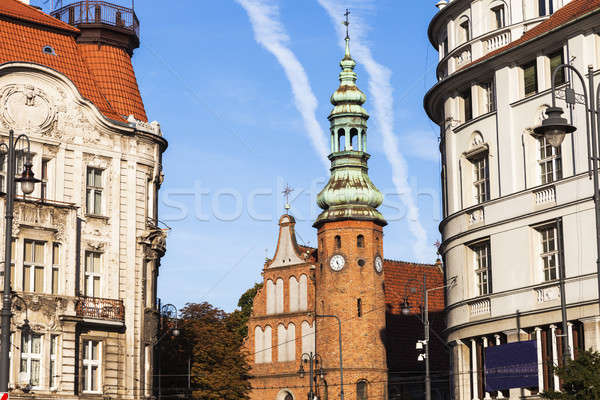 Церкви здании Skyline осень Европа осень Сток-фото © benkrut